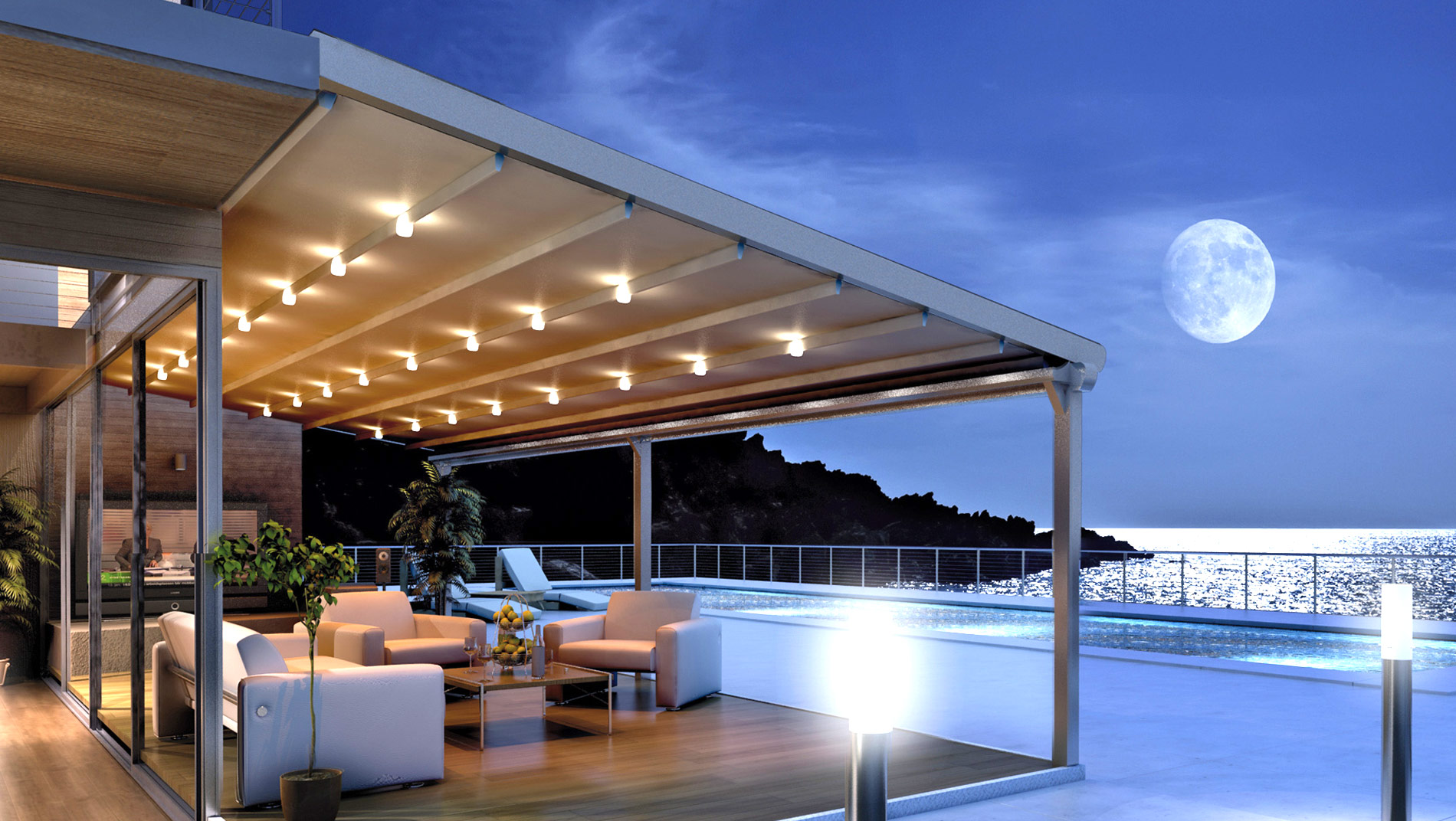 Toldoastur toldos de fachada y terraza asturias for Toldo lateral para terraza